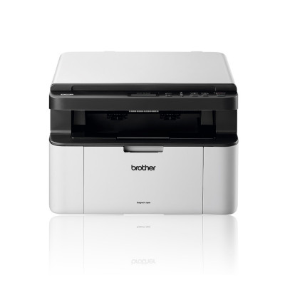 МФУ лазерное ч/б A4 Brother DCP-1510R, White/Grey, 600x2400 dpi, до 20 стр/мин, ЖК-монитор, USB (картридж TN1075)