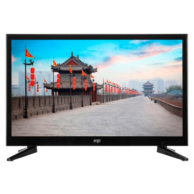 Телевизор 24' ERGO LE24CT5000AK LED HD 1366x768 60Hz, DVB-T2, HDMI, USB, VESA (100x100)