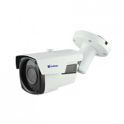 IP-камера EvoVizion IP-2.4-917VF (PoE), White, 2,4Mp, OV9732, 1920×1080, H.264/JPEG/AVI, f=2.8 мм, ИК-подсветка до 40 метров, RJ45, IP66, 291 x 91 x 87 мм