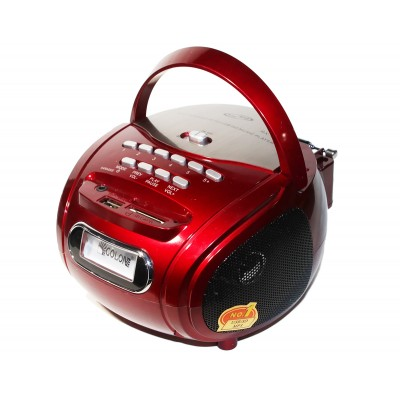 MP3 плеер Colon RX-186, Red, 2x3 Вт, LCD экран, FM, USB, SD, Mic, 4x'D' / 220V