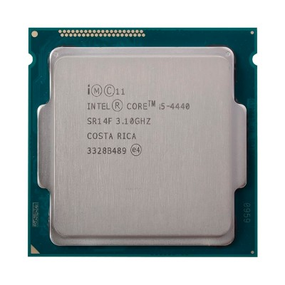 Процессор Intel Core i5 (LGA1150) i5-4440, Tray, 4x3,1 GHz (Turbo Boost 3,3 GHz), HD Graphic 4600 (1100 MHz), L3 6Mb, Haswell, 22 nm, TDP 84W (CM8064601464800)