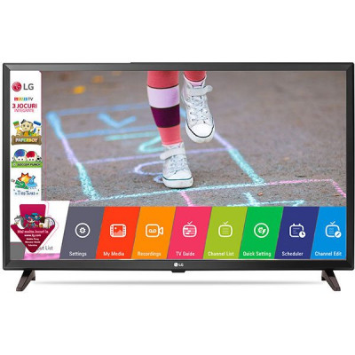 Телевизор 32' LG 32LK510, LED HD 1366x768 50Hz, HDMI, USB, VESA 200x200 (32LK510B)