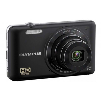 Фотоаппарат Olympus VG-130 Black, 14.5 Mp, LCD 3,0', Zoom 4x, оптический стабилизатор, SD, SDHC, Li-Ion