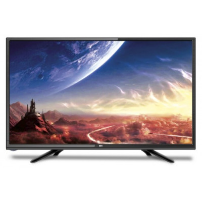 Телевизор 32' DEX LE3255ТS2, LED HD 1366x768 50Hz, DVB-T2, HDMI, USB, VESA (200x100)