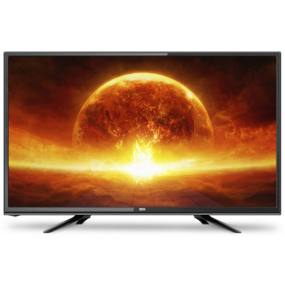 Телевизор 24' DEX LE2455ТS2, LED HD 1366x768 50Hz, DVB-T2, HDMI, USB, VESA (100x100)