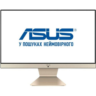 Моноблок Asus Vivo AiO V241FAK-BA029D, Black/Gold, 23.8' LED FullHD (1920x1080), Core i5-8265U (4x1.6-3.9 GHz), 8Gb DDR4, 256Gb SSD, UHD Graphics 620, WiFi ac, Bluetooth 4.1, Web, 4xUSB3.1/1xUSB2.0, HDMI, DOS (90PT0292-M02740)