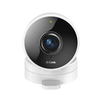 IP-камера D-Link DCS-8100LH, White/Black, WiFi, 1Mp, 1/2,7' CMOS, 1280х720, 30FPS, H.264/MJPEG, f=1.8 мм, F2.2, ИК-подсветка до 5 м, microSD, Bluetooth, 155 г