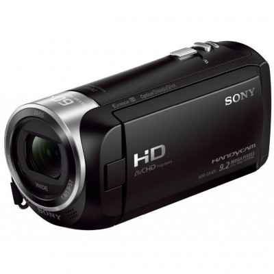 Видеокамера Sony HDR-CX405B Black, 9.2 Мп Carl Zeiss Tessar, Flash память (HDRCX405B.CEL)