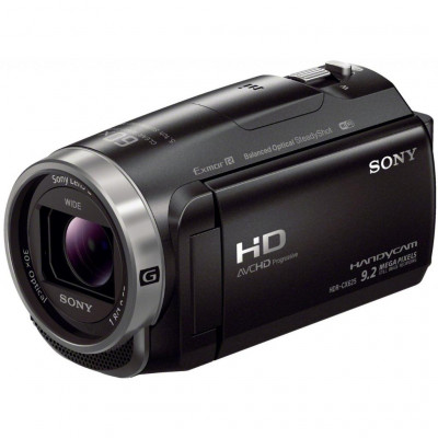 Видеокамера Sony HDR-CX625 Black, 9.2 Мп Carl Zeiss Tessar, Flash память (HDRCX625B.CEL)
