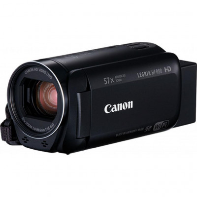 Видеокамера Canon Legria HF R88 Black, 3.28 Мп CMOS Full HD, Flash память (1959C007)