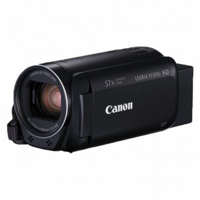 Видеокамера Canon Legria HF R806 Black, 3.28 Мп CMOS Full HD, Flash память (1960C008)