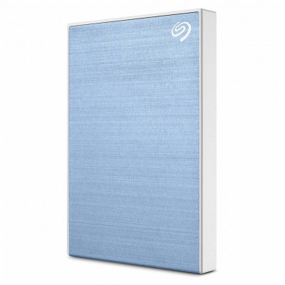 Внешний жесткий диск 1Tb Seagate Backup Plus Slim, Light Blue, 2.5', USB 3.0 (STHN1000402)