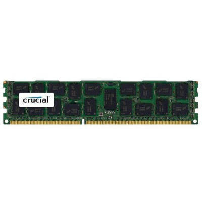 Память 16Gb DDR3, 1600 MHz, Crucial, ECC, Registered, 1.35V, CL11 (CT16G3ERSLD4160B)