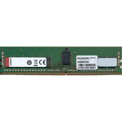 Память 16Gb DDR4, 2400 MHz, Kingston, ECC, Registered, CL17, 1.2V (KSM24RD8/16MEI)