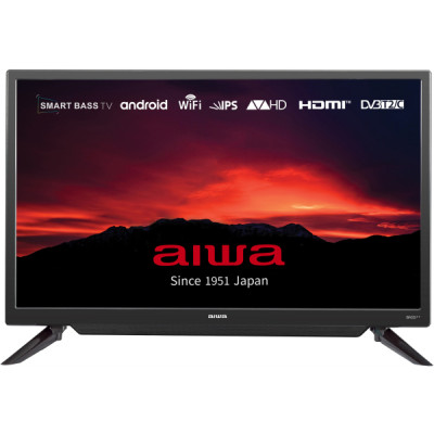 Телевизор 32' Aiwa JH32DS700S, LED HD 1366x768 60Hz, Smart TV, DVB-T2, HDMI, USB, VESA (200x100)