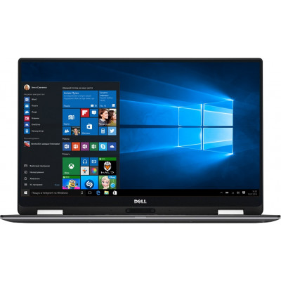 Ноутбук 13' Dell XPS 13 9365 (X358S2NIW-66) Platinum Silver 13.3' Multi-touch, глянцевый LED Full HD (1920x1080) IPS, Intel Сore i5-8200Y 1.3-3.9GHz, RAM 8Gb, SSD 256Gb, Intel UHD Graphics 615, noDVD, Windows 10