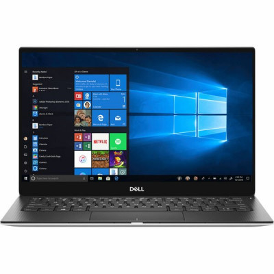 Ноутбук 13' Dell XPS 13 9380 (X3716S3NIW-83S) Silver 13.3' Multi-touch, глянцевый LED Ultra HD 4K (3840x2160), Intel Сore i7-8565U 1.8-4.6GHz, RAM 16Gb, SSD 512Gb, Intel UHD Graphics 620, noDVD, Windows 10
